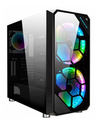 XIGMATEK ZEST RGB Tempered Glass E-ATX Case