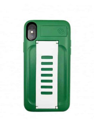 Grip2u Boost Case Fir iPhone XS-Saudi Green