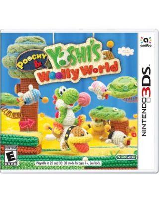 Yoshi's Woolly World - Nintendo 3DS - R1