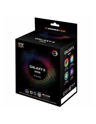 xigmatek Galaxy II Pro 3 Fan Pack (3x AT120 ARGB Fans)