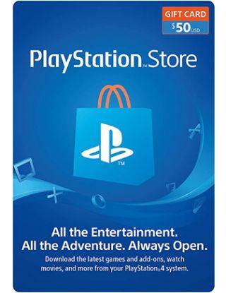 PSN Store Card $50(U.S. Account)