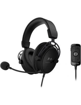 HyperX Cloud Alpha S Gaming Headset, 7.1 Surround Sound - Black