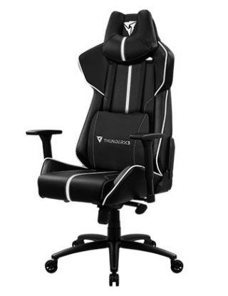ThunderX3 Gaming Chair BC7-Black-White / Race-Cushion-V1