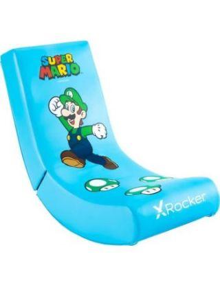 X-Rocker Video Rocker Super Mario All-Star Luigi Gaming Chair