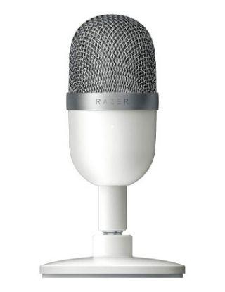 Razer Seiren Mini Ultra Compact Streaming Microphone -  Mercury White