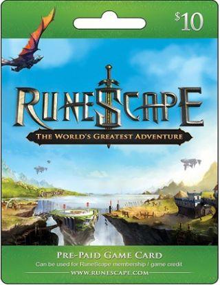 Jagex RuneScape $10 Gift Card