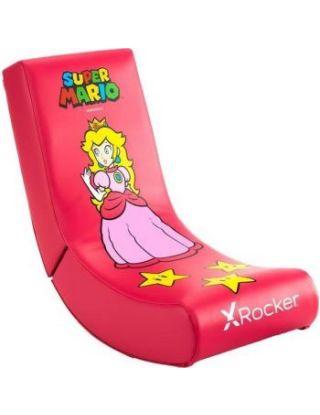 X-Rocker Video Rocker Super Mario All-Star Peach Gaming Chair
