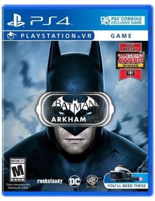 PS4 Batman: Arkham VR - PlayStation VR - R1