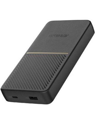 OtterBox Fast Charge Power Bank 20,000mAh USB A & USB C 18W PD - Black