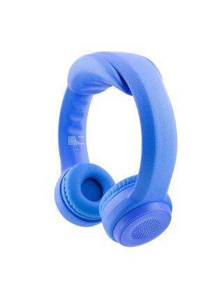 Promate Flexure-BT Made For Kids Flex-Foam Wireless Stereo Headphone - Blue