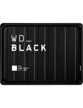 WD Black P10 Game Drive Portable External Hard Drive 4TB (Ps4/Xbox/Pc/Mac) - Black