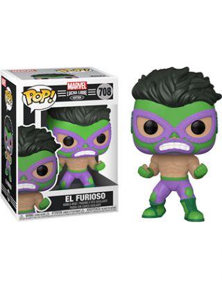 POP Marvel Lucha Libre El Furioso - Hulk 708