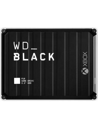 Xbox WD Black P10 Game Drive Portable External Hard Drive 5TB - Black