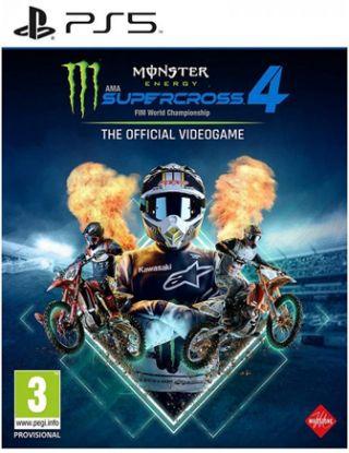 PS5 Monster Supercross 4 FIM World Championship - R2
