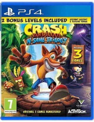 PS4 Crash Bandicoot N. Sane Trilogy - R2