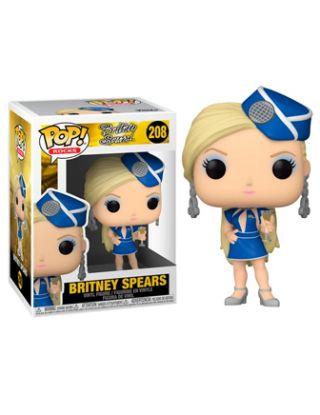 FUNKO POP! ROCKS: Britney Spears - Stewardess Outfit - 208