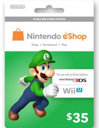 Nintendo eShop $35 Gift Card