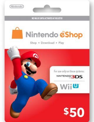 Nintendo eShop $50 Gift Card