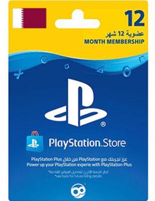 Playstation Plus 12 Months QATAR Account