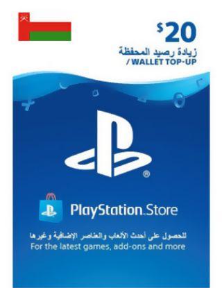 PSN Store Card $20 OMAN ACCOUNT
