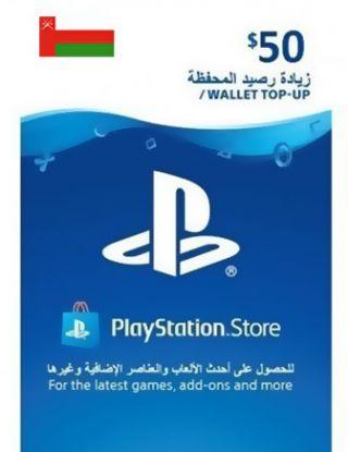 PSN Store Card $50 OMAN ACCOUNT