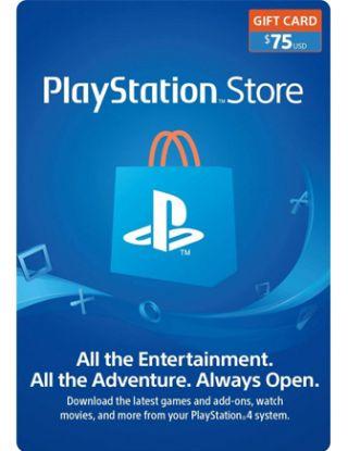 PSN Store Card $75 (U.S. Account)