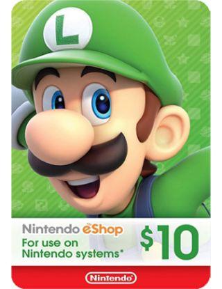 Nintendo eShop $10Gift Card