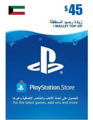 PSN Store CARD 45$ - Kuwait STORE