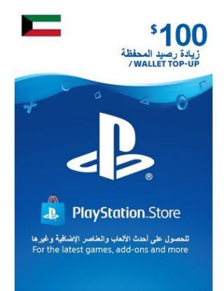 PSN Store CARD 100$ - Kuwait STORE