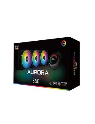 Xigmatek Aurora 360 AIO RGB Liquid Cooler - Black