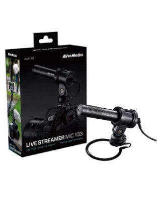 AVerMedia AM133 Professional Live Streamer Microphone - Black