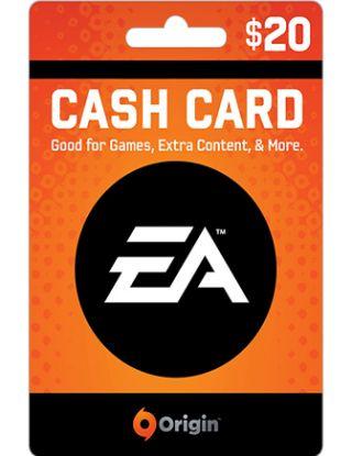 EA ORIGIN GAME CARD $20
