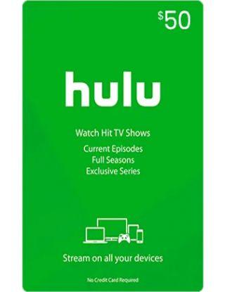 Hulu Gift Card $50-USA