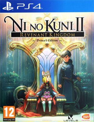 PS4 Ni no Kuni II: The Rebirth of the King. Prince's Edition R2
