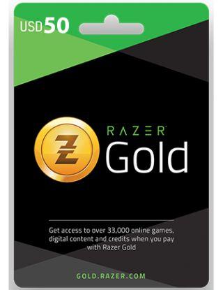 Razer Gold Pins Gift Card $50(US)
