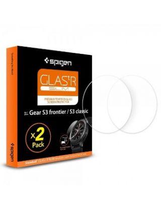 Spigen  Glas.tR Slim Galaxy Gear S3 Classic / Frontier Tempered Glass (2 Pack)