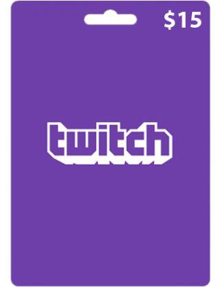Twitch $15 Gift Card (USA)