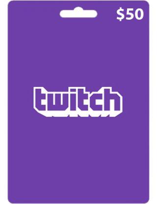 Twitch $50 Gift Card (USA)