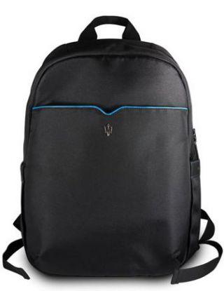 MASERATI GRANSPORT TABLET BAG 15 INCH-BLACK