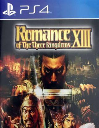 PS4 ROMANCE OF THE THREE KINGDOMS XIII