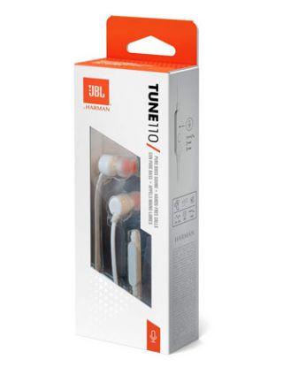 JBL TUNE110 IN-EAR HEADPHONE - WHITE