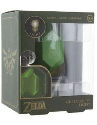 ZELDA GREEN RUPEE 3D LIGHT-USA
