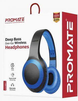 PROMATE LABOCA DEEP BASS OVER-EAR WIRELESS HEADPHONE -BLUE