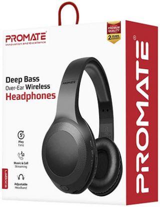 PROMATE LABOCA DEEP BASS OVER-EAR WIRELESS HEADPHONE -BLACK
