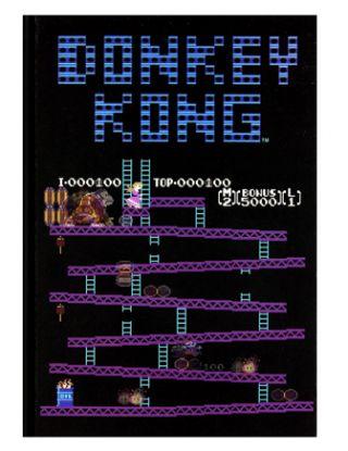 Donkey Kong Nintendo Notebook