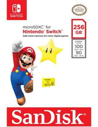 SanDisk 256GB microSD Memory-Card