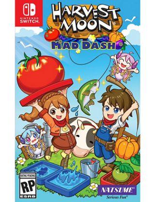 Nintendo Switch - harvest moon mad dash US Version R1