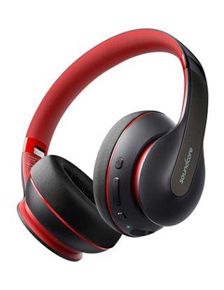 Anker Soundcore Life Q10 Wireless Bluetooth Headphones - Black & Red